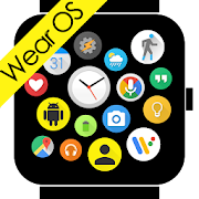 Bubble Cloud Wear Launcher Watchface (Wear OS)