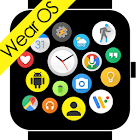 Bubble Cloud Wear Launcher Watchface (Wear OS) icon