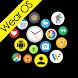 Bubble Cloud Wear Launcher Watchface (Wear OS) image