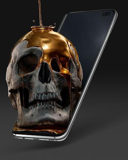 Live Wallpapers 4Κ & 3D/HD Backgrounds: GRUBL™ screenshot 5