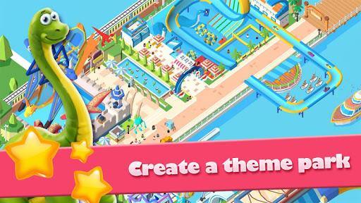 Idle Park Tycoon - Dinosaur Theme Park apkpoly screenshots 7