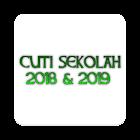 TARIKH CUTI SEKOLAH 2018 DAN 2019 icon