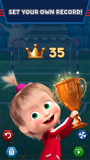 Masha and the Bear: Football Games for kids 1.3.7 screenshots 5