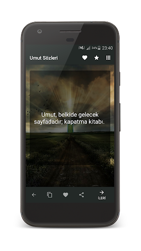 Umut Su00f6zleri 1.0 screenshots 1