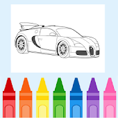 Coloring Racing Car