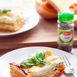 Butternut Squash, Spinach and Ricotta Lasagne Recipe