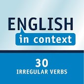 30 English irregular verbs