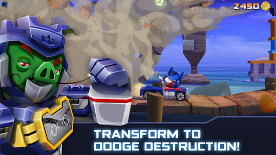 Angry Birds Transformers- screenshot thumbnail
