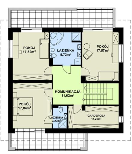 TK 44 - Rzut piętra
