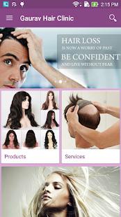 Gaurav Hair Clinic screenshot