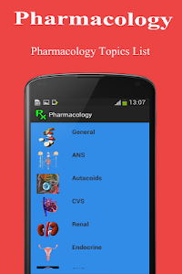 Pharmacology Medical screenshot 2