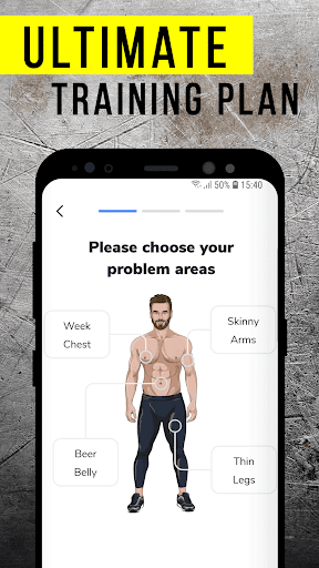 BetterMen: Workout Trainer Fitness app screenshot 1 for Android