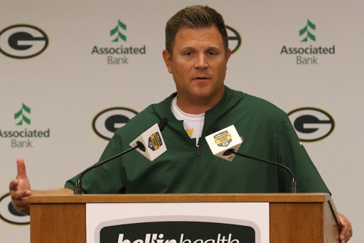 """Aaron Rodgers Reportedly Refers to Packers GM Brian Gutekunst as """"Jerry Krause"""" in Group Texts"""