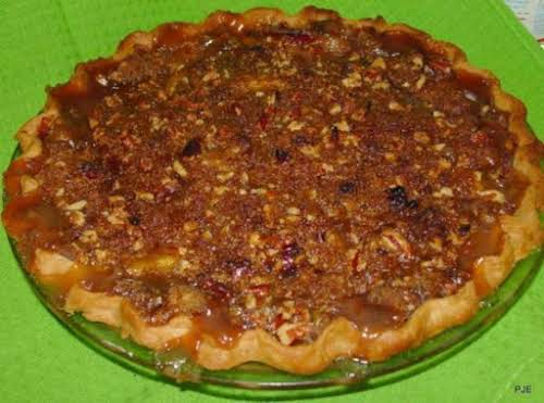 "Pecan Praline Peach Pie ""I made this last weekend and everyone RAVED..."