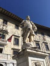 Photo: This is Cosimo Medici with his foot on a dolphin