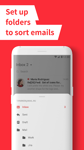 myMail – Email for Hotmail, Gmail and Outlook Mail 11.2.0.28120 screenshots n 2