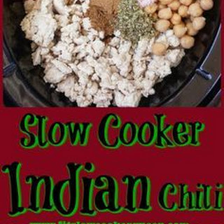 Slow Cooker Indian Chili Recipe