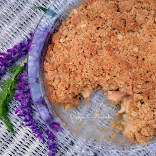 Gluten Free Pear Crisp with Fennel