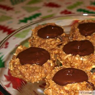 Gingerbread Kiss Cookies (paleo gingerbread)