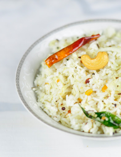 coconut rice Indian style