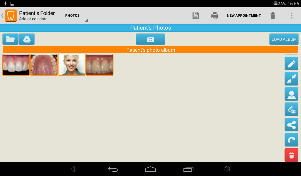 Cusp Dental Office DEMO- screenshot