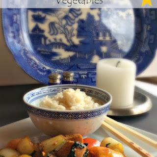 General Tsao Chicken & Vegetables Recipe