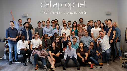 DataProphet's team of machine learning specialists.