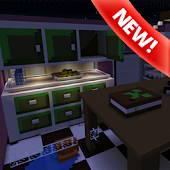 Hide and seek kitchen MCPE map