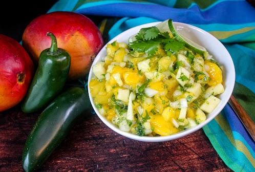 Mango Pineapple Salsa