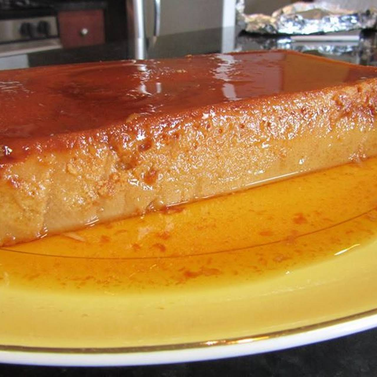 Chef Ron Bilaro S Cream Cheese Leche Flan Recipe Yummly