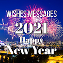 Happy New Year Wishes Cards & Messages 2021 icon