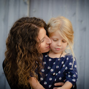 Mother & Daugther by Lori Louderback - People Family ( mother, mother's love, daughter )
