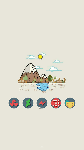 Farrago Icon Pack app for Android screenshot