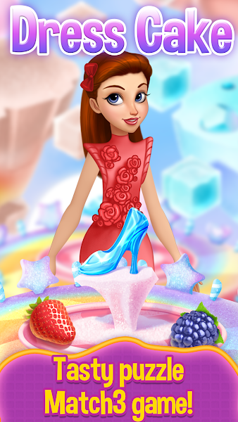 Dress Cake Match 3 v1.3.3 [Mod]
