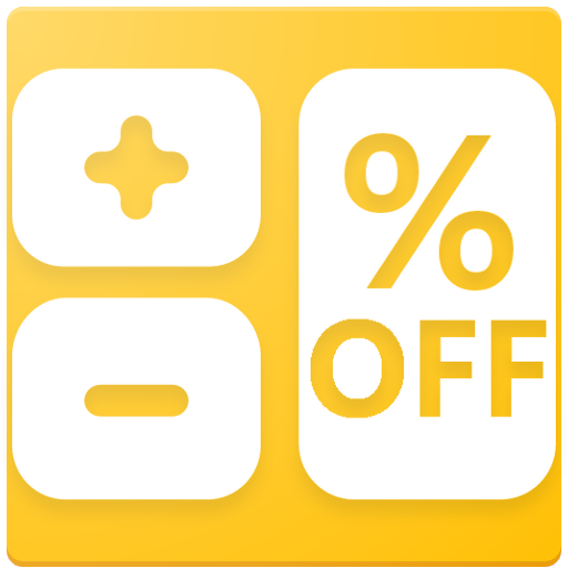 Discount & Sales Tax Calculator Icon