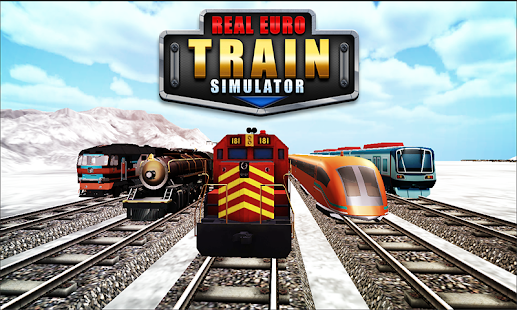 Real Euro Train Simulator - Christmas Special Game - náhled