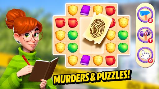 Small Town Murders: Match 3 Crime Mystery Stories apkdebit screenshots 1