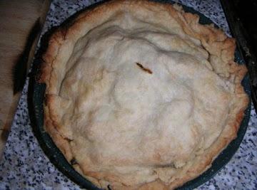Simple Yooper Style Pasty Pie     An Original Recipe By: Cathy Hurkmans Tolman