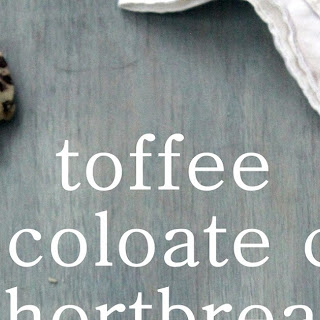 Toffee Chocolate Chip Shortbread