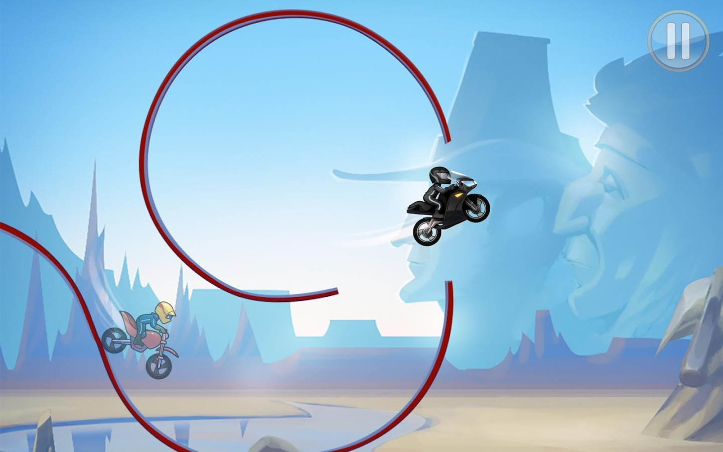 Bike Race Free Motorcycle Game- screenshot