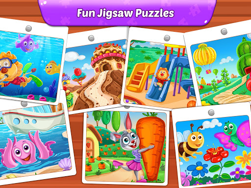 Puzzle Kids - Animals Shapes and Jigsaw Puzzles screenshots 22