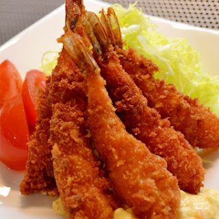Deep-Fried Breaded Prawn Shrimp (Ebi Fry)