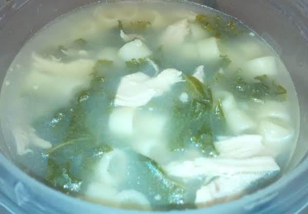 Chicken, Kale, & White Bean Soup