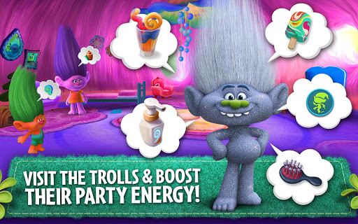 玩免費街機APP|下載Trolls: Crazy Party Forest! app不用錢|硬是要APP