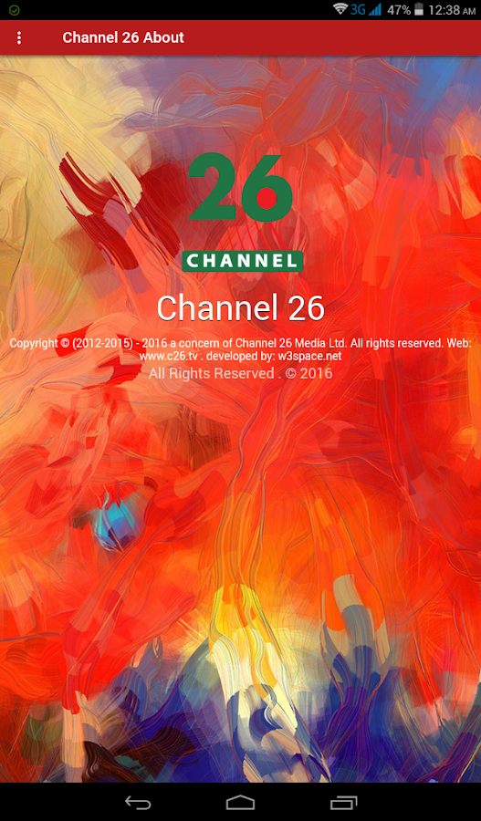 Channel 26- screenshot