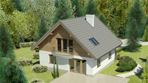projekt Dom przy Cyprysowej 45