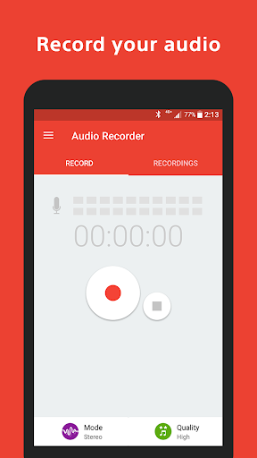 Audio Recorder for PC