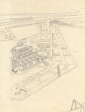 Photo: [omstreeks 1988 ©-verzameling KBO] - http://www.Katendrecht.info - schetsen & studies - een 'proefverkaveling'.