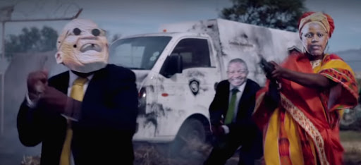 It's entertaining but will the DA's 'cheap shot' ad win the youth vote?