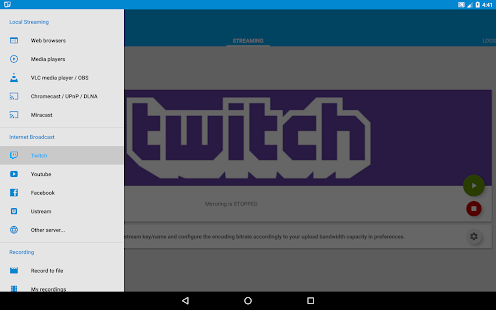 Screen Stream Mirroring Free- screenshot thumbnail